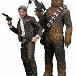 StarWars collection : Artfx+ Star Wars The Force Awakens Han Solo & Chewbacca 2 Pack Figurine