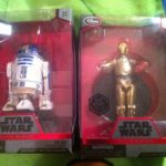 Figurine StarWars : Star Wars Elite Series Die Cast R2-D2 & C-3PO Disney Store Exclusive new