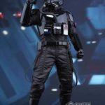 StarWars collection : Hot Toys MMS324 Star Wars VII 7 First Order TIE Pilot 1/6 Figure 30cm