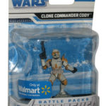 StarWars figurine : Star Wars Clone Commander Packs de Bataille Unleashed Figurine - (Wal-Mart