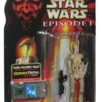 StarWars collection : Star Wars Épisode I OOM-9 Jumelles en Main Hasbro Commtech Figurine