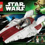 StarWars collection : Star Wars LEGO 75003 A-WING STARFIGHTER NEUF JAMAIS monté sans boite ni figurine