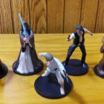 StarWars figurine : Star Wars Figures 5 - Luke Skywalker, Darth Vader, Han Solo, Chewy, Obi Wan