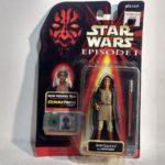 StarWars figurine : Hasbro Star Wars Épisode 1 Adi Gallia Commtech Chip Action Figurine 1999 t1437
