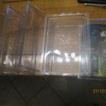 StarWars collection : Star Wars lot de 5 star case plastique transparent  pour figurine sous blister