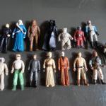StarWars figurine : Vintage job figurine lot jouet Star Wars ancien des 70.80's
