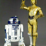 StarWars collection : STAR WARS C-3PO & R2-D2 2x figurine PVC echelle 1:10 Artfx+ Kotobukiya