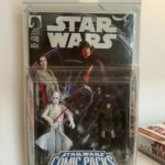 StarWars figurine : Star Wars - Figurines Darth Vader & Princess Leia (Comics' SW: Infinities #4 -