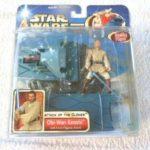 StarWars figurine : Star wars:Obi-Wan Kenobi Attack of the clones (Hasbro 2002) dans blister scellé