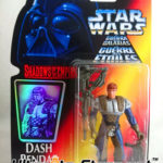 Figurine StarWars : Figurine Dash Rendar 1996 - STAR WARS Shadow of the Empire Neuf sous Blister (1)