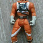 StarWars figurine : Star Wars Potf Luke Skywalker Figurine en X-Wing Chasseur Pilote Vitesse Kenner