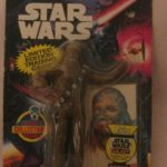 Figurine StarWars : Star Wars Bend-Ems Chewbacca Action Figurine avec Carte par Just Toys 1993 Neuf