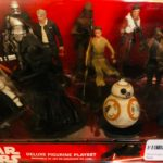 "Figurine StarWars : Disney Star Wars Deluxe Figurine Play Set ""THE FORCE AWAKENS"""
