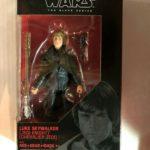 "StarWars figurine : Star Wars Série Noire 6 "" Luke Skywalker Jedi Chevalier Figurine Exclusif Hasbro"