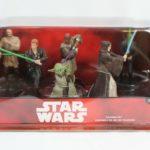StarWars figurine : DISNEY STAR WARS  YODA JEDI 6 PIECE FIGURINE PLAY SET/CAKE TOPPERS  NEW IN BOX