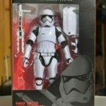 StarWars figurine : figurine vintage star wars black series hasbro first order stormtrooper