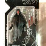 "Figurine StarWars : Star Wars Série Noire Archive 6 "" Darth Maul Figurine Disney Hasbro"