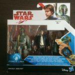 StarWars collection : Star Wars Force Link figurine han solo et boba fett