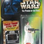 StarWars collection : Star Wars Kenner figurine Blister Freeze Frame Leia Organa NEUF