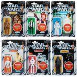 StarWars figurine : Hasbro / Kenner / STAR WARS - Retro Serie - 6 Figurines Vintage Collector - NEW