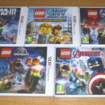 5 jeux nintendo 3DS / 3DS XL / 2DS - LEGO - Occasion StarWars
