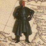 StarWars figurine : Figurine Hasbro STAR WARS MAÎTRE SITH DARK MAUL 1999