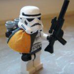Figurine StarWars : rare lot divers Pièce LEGO star wars set 4501 figurine Stormtrooper Tatooine
