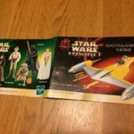 Figurine StarWars : Rare! catalogue Livret 1999 Star Wars Episode 1 Collection Hasbro Figurines Lot