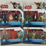 StarWars collection : FIGURINES FIGURES STAR WARS LOT HASBRO MOC DROIDS SOLO BOBA FETT ROGUE ONE