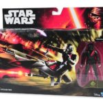 Figurine StarWars : Star Wars Elite Speeder Bike + Figurine Stormtrooper noir elite Neuf