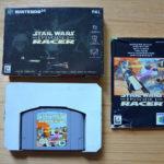 N64 - Star Wars Racer: Episode 1 - (OVP, mit - jeu StarWars