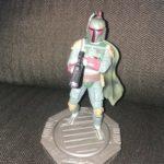 "StarWars collection : Star Wars 6"" Boba Fett Figurine on 360° Rotating Base"