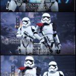 Figurine StarWars : Hot Toys MMS335 Star Wars VII First Order Stormtrooper & Officer 2-Pack Figures
