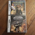 2 DS Games Age 12- Lord Of The Rings Aragorns - jeu StarWars