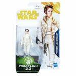 Figurine StarWars : FIGURINE Star Wars - Force Link - Leia organa - HASBRO NEUF