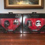 StarWars collection : Star Wars #01 #02 BLACK SERIES Titanium Series Mini Helmets Hasbro Brand New NIB