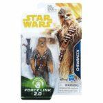 Figurine StarWars : FIGURINE Star Wars - Force Link - Chewbacca - HASBRO NEUF