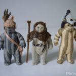StarWars figurine : Figurine originales Star Wars Vintage X3 Ewok - Logray, Chief Chirpa, Teebo 1983