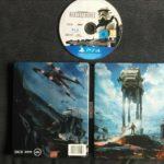 Star Wars Battlefront Steelbook PS4 Inc Game - jeu StarWars