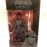 """StarWars collection : Star Wars Série Noire 6 """" Finn Premier Ordre Déguisement Figure #51 Disney"""
