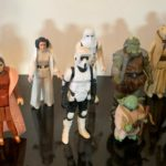Figurine StarWars : STAR WARS 4 figurines de 1977 ; 12 autres 1980  et lot miniatures star wars