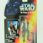 "StarWars collection : Kenner Star Wars Han Solo The Power of the Force 3 3/4"" Tall Figurine 1995 NIB"