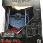 Figurine StarWars : Star Wars: The Force Awakens Black Series Titanium TIE ADVANCED # 15