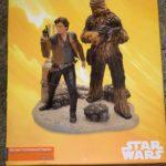 StarWars figurine : Star Wars Han Solo & Chewbacca figurine Disney store limited edition
