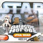 StarWars figurine : Star Wars Galactic Heroes Scout Trooper & Speeder Vélo Figurines 32660