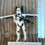 StarWars collection : figurine STAR WARS 086* : CLONE TROOPER firing jet backpack - 2005