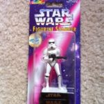 StarWars collection : Star Wars STORMTROOPER Figurine Stamper ROSEART Inkpad in Base RARE