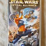 PSP Sony Playstation Pal Game STAR WARS - Bonne affaire StarWars