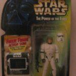 StarWars figurine : Star Wars Tpotf Freeze Cadre Luke Skywalker en Stormtrooper Déguisement New t439