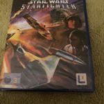 New+Sealed Star Wars Starfighter Playstation - jeu StarWars
